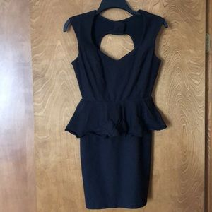 Love Culture Mini Black Dress